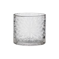 Day Birger Et Mikkelsen Handcut Flower Glass Votive Clear