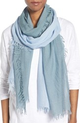 Eileen Fisher Women's Ombre Wool Blend Scarf Morning Glory