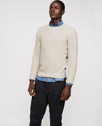 Aspesi Cashmere Sweater Grey Beige