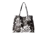 Elliott Lucca Artisan Jules Tote Black White Wildflower Tote Handbags