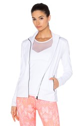 Alo Yoga Moto Jacket White
