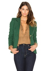 Smythe Patch Pocket Duchess Blazer Green