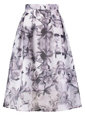 Dorothy Perkins Luxe Pleated Skirt Grey