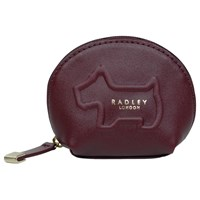 Radley Shadow Leather Small Coin Purse Red
