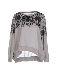 Pinko Topwear T Shirts Women Grey