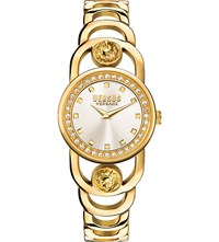 Versus Scg180016 Carnaby Street Gold Plated Watch