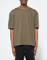Halo Drop Tee In Army