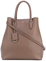 Max Mara Classic Tote Women Cattle Horn Polyurethane One Size Brown