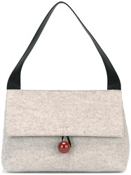 Corto Moltedo Medium 'Rose' Shoulder Bag Nude Neutrals