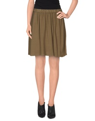American Vintage Mini Skirts Military Green