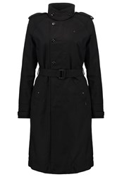 G Star Gstar Florence Trench Trenchcoat Black