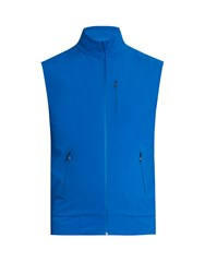 Aeance Water Repellent Performance Gilet Blue