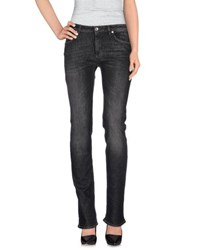 Henry Cotton's Denim Denim Trousers Women Black