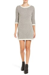 Amour Vert Women's 'Emma' Herringbone Cotton Sheath Dress