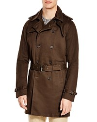 Blank Olive Trench Coat