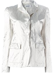 Jil Sander Flap Pockets Blazer White