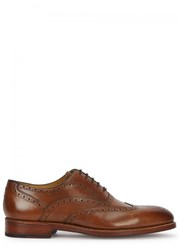 Oliver Sweeney Aldeburgh Walnut Leather Brogues Tan