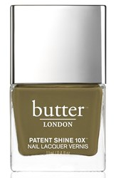 Butter London 'Patent Shine 10X' Nail Lacquer British Khaki