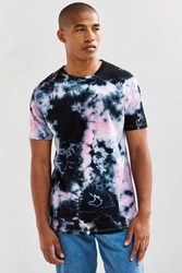Urban Outfitters Uo Crystal Wash Tee Black Multi