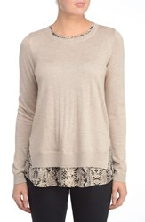 Nydj Women's Layered Look Sweater