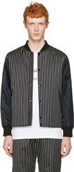 Rag And Bone Black Irving Bomber Jacket