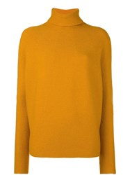Christian Wijnants Turtle Neck Jumper Yellow And Orange