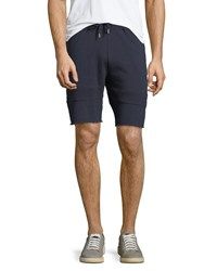 Sovereign Code Packer Quilted Terry Shorts Navy
