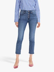 J.Crew Vintage Straight Button Fly Eco Jeans