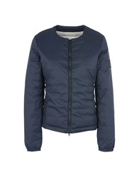 Ecoalf Down Jackets Dark Blue