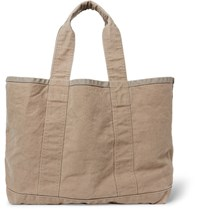 James Perse Coated Canvas Tote Bag Beige