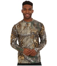 Terramar 2.0 Stalker Long Sleeve Crew Realtree Xtra Men's Long Sleeve Pullover Brown