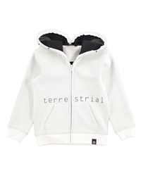 Molo Extraterrestrial Hooded Sweatshirt White