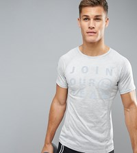 Blend Of America Active Slogan T Shirt Gy1 Grey 1