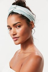Urban Outfitters Vacation Twist Headwrap Green