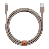 Native Union Ultra Lightning Belt Cable Taupe Brown