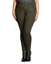City Chic Warrior Pants Olive