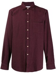Portuguese Flannel Teca Shirt Red