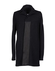 Gentryportofino Coats And Jackets Coats Men Black