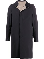 Dell'oglio Single Breasted Reversible Coat 60