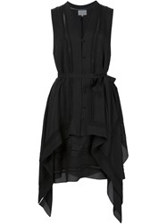 Maiyet 'Short Kaftan' Dress Black