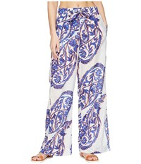 Bogner Fire And Ice Ally Paisley Print Casual Pants Multi