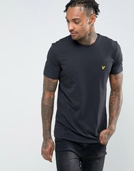 Lyle And Scott T Shirt With Eagle Logo In Black Black