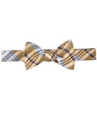 Brooks Brothers Plaid To Tie Bow Tie Yellow