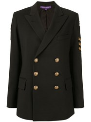 Ralph Lauren Collection Structured Blazer Black