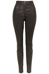 Maida Leather Jodphur Trousers By Unique Chocolate