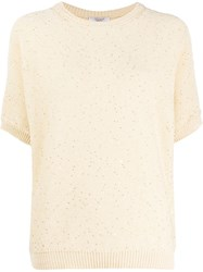Peserico Sequin Embroidered Jumper 60