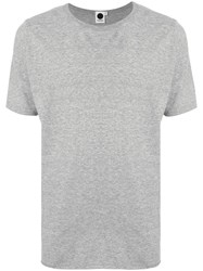 Bassike Short Sleeve Fitted T Shirt Grey