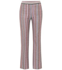 Missoni Metallic Cropped Trousers Multicoloured