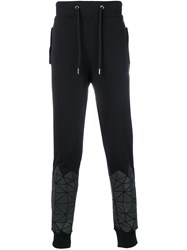 Frankie Morello Loose Track Trousers Black
