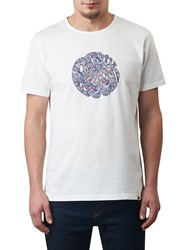 Pretty Green Campais Logo T Shirt White